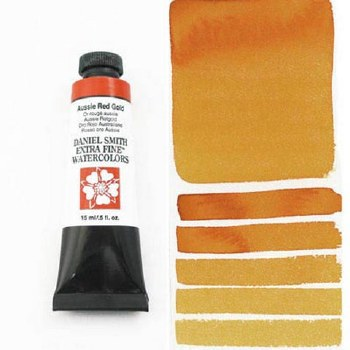 Extra-Fine Watercolors, 15ml Tubes, Aussie Red Gold