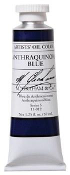 M. Graham Oil, Anthraquinone Blue, 37ml