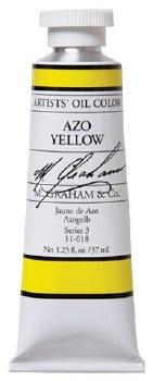 M. Graham Oil, Azo Yellow, 37ml