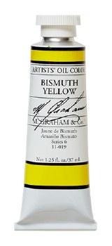 M. Graham Oil, Bismuth Yellow, 37ml
