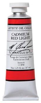 M. Graham Oil, 37ml, Cadmium Red Light