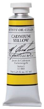 M. Graham Oil, Cadmium Yellow, 37ml