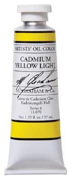 M. Graham Oil, Cadmium Yellow Light, 37ml