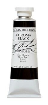 M. Graham Oil, Chroma Black, 37ml