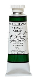 M. Graham Oil, Cobalt Green , 37ml