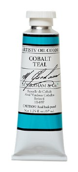 M. Graham Oil, Cobalt Teal, 37ml