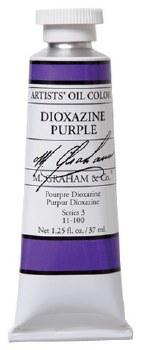 M. Graham Oil, Dioxazine Purple, 37ml