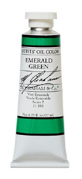 M. Graham Oil, 37ml, Emerald Green