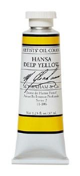 M. Graham Oil, Hansa Deep Yellow, 37ml
