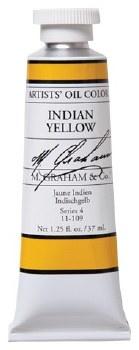 M. Graham Oil, Indian Yellow, 37ml