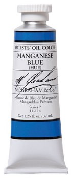 M. Graham Oil, Manganese Blue, 37ml