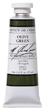 M. Graham Oil, Olive Green, 37ml