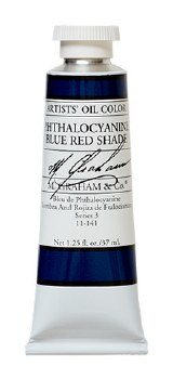 M. Graham Oil, Phtho Blue Red Shade, 37ml