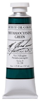 M. Graham Oil, Phthalo Green, 37ml