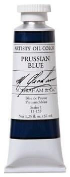 M. Graham Oil, Prussian Blue, 37ml