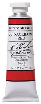 M. Graham Oil, Quinacridone Red, 37ml