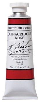 M. Graham Oil, Quinacridone Rose, 37ml