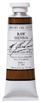 M. Graham Oil, Raw Sienna, 37ml