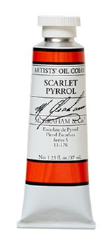 M. Graham Oil, Scarlet Pyrrol, 37ml