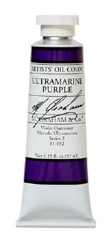 M. Graham Oil, Ultramarine Purple, 37ml