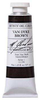 M. Graham Oil, Van Dyke Brown, 37ml
