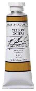 M. Graham Oil, Yellow Ochre, 37ml