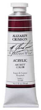 M. Graham Acrylic Aliz Crimson 59ml