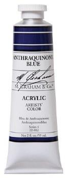 M. Graham Acrylic Anthraquinone Blue 59ml