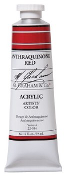 M. Graham Acrylic Anthraq Red 59ml