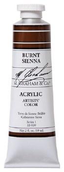 M. Graham Acrylic Burnt Sienna 59ml