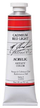 M. Graham Acrylic Cadmium Red Light 59ml