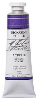 M. Graham Acrylic, 59ml, Dioxazine Purple