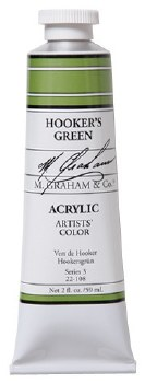 M. Graham Acrylic Hooker's Green 59ml