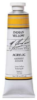 M. Graham Acrylic Indian Yellow 59ml