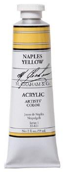 M. Graham Acrylic Naples Yellow 59ml