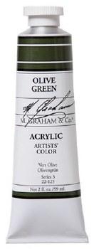 M. Graham Acrylic Olive Green 59ml