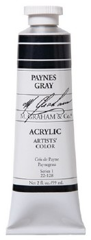 M. Graham Acrylic Payne's Gray 59ml