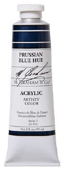 M. Graham Acrylic Prussian Blue 59ml