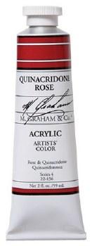 M. Graham Acrylic Quinac Rose 59ml