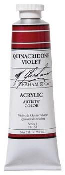 M. Graham Acrylic Quinac Violet 59ml