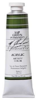 M. Graham Acrylic Sap Green 59ml