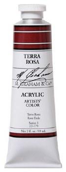 M. Graham Acrylic Terra Rosa 59ml