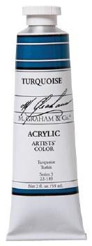 M. Graham Acrylic Turquoise 59ml