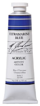 M. Graham Acrylic Ultra Blue 59ml
