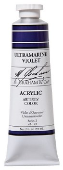 M. Graham Acrylic Ultramarine Violet 59ml