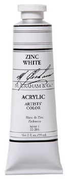 M. Graham Acrylic Zinc White 59ml