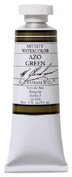 M. Graham Watercolor Azo Green