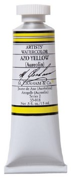 M. Graham Watercolor Azo Yellow
