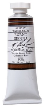 M. Graham Watercolor Burnt Sienna