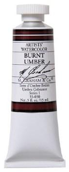 M. Graham Watercolor Burnt Umber